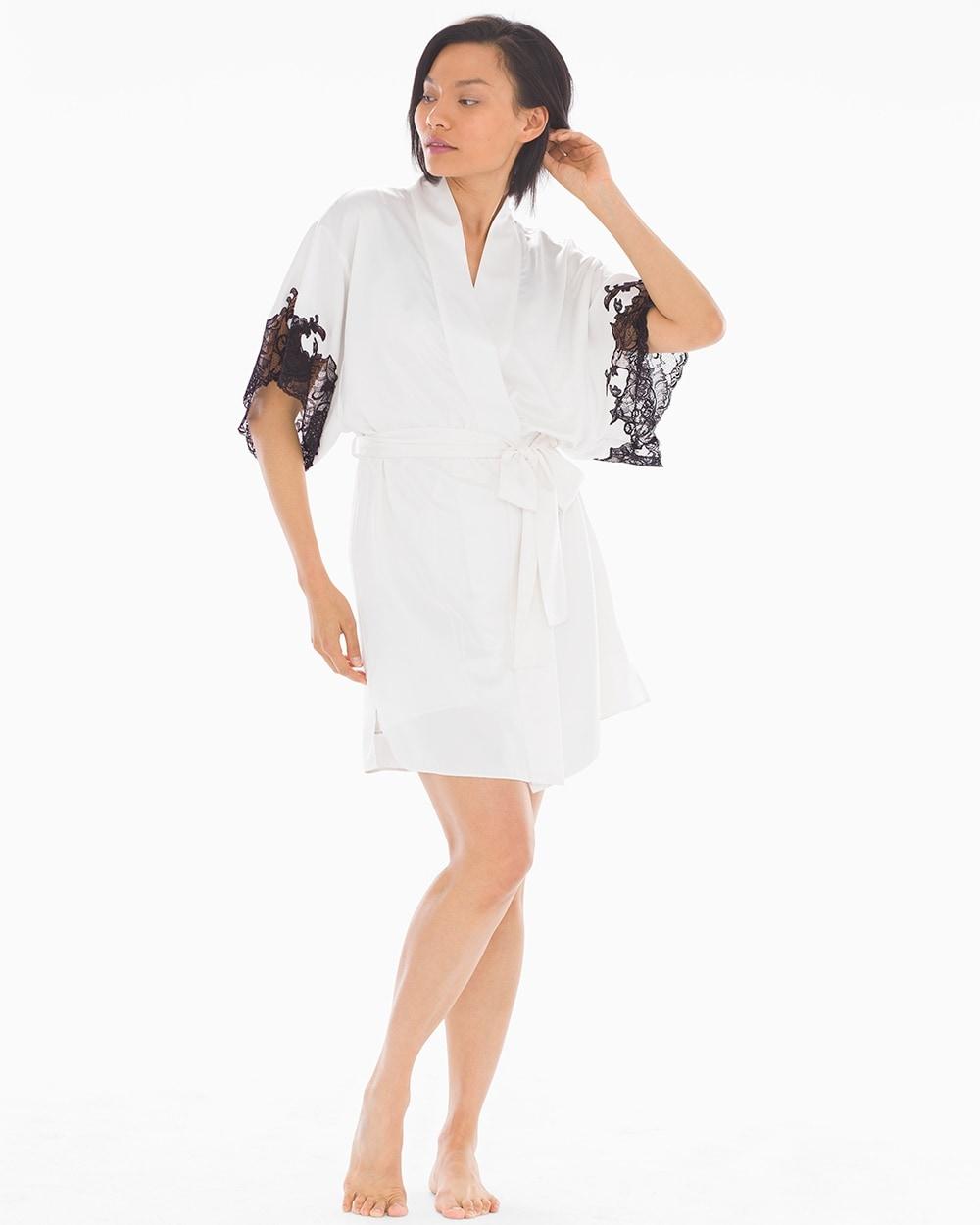 a61c10d92f Plume Short Robe Warm White - Soma