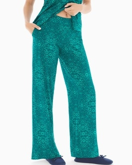Cool Nights Pajama Pants Illumination Green Envy TL