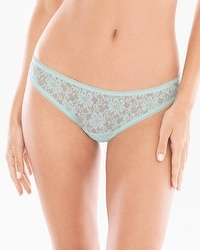 Embraceable Allover Lace Cheeky Bikini