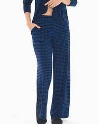 Cool Nights Pajama Pants Houndstooth Majesty TL
