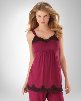Embraceable Cool Nights Currant PJ Cami