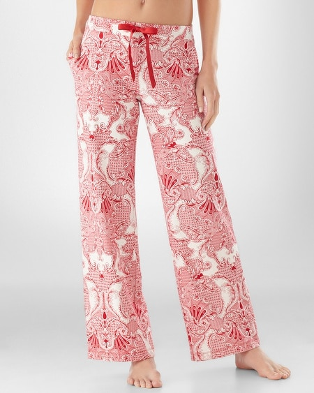 Lavish Red PJ Pant