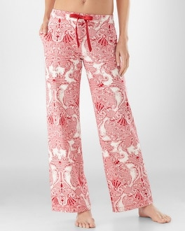 Embraceable Lavish Red PJ Pant