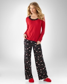 Embraceable Cool Nights Martini PJ Set