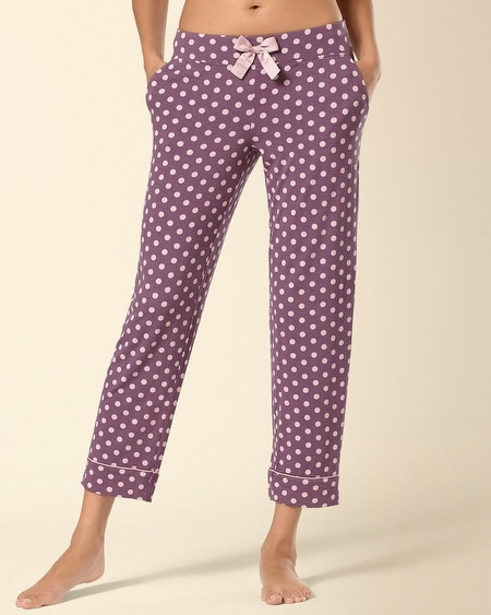 Ankle Pajama Pant Big Dot Amethyst