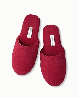 Arlotta Cashmere Slipper Bordeaux