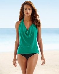 Magicsuit Sophie Swim Tankini Top Emerald