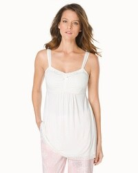 Embraceable Cool Nights Lace Sleep Cami Ivory