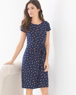 Leota Short Sleeve Madison Short Dress