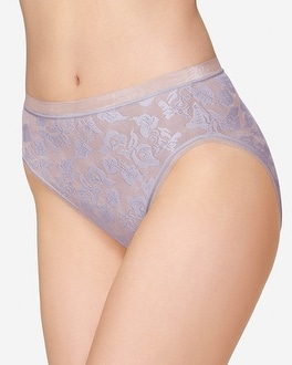 Wacoal Awareness High Leg Brief Lavender Frost