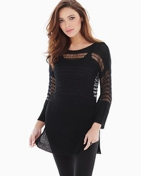 Miraclebody by Miraclesuit Drew Yarn Sweater Black
