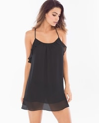 In Bloom Belezia Sleep Chemise Black