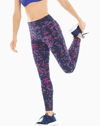 Soma Sport Legging Strollin Scroll Royal