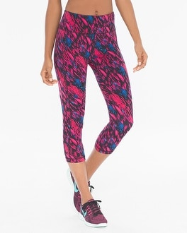 Soma Sport Crop Leggings Flamenco Mini