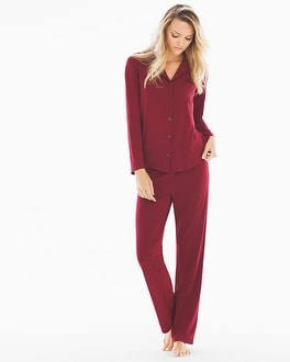 Naked Essential Pajama Set Jungle Red