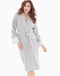 Natori Nirvana Long Robe Heather Grey