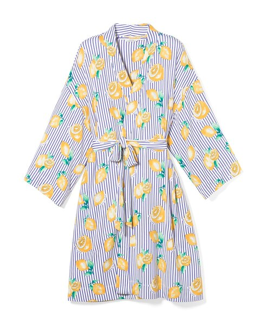 6f888bc84 Return to thumbnail image selection Kimono Sleeve Short Robe Lemon Zest