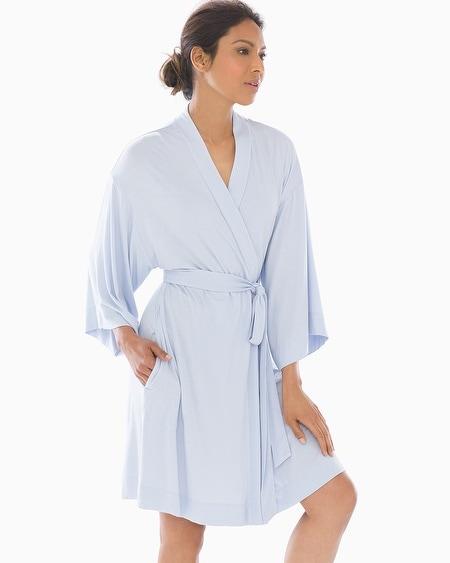 f017c4d325 Cool Nights Kimono Sleeve Short Robe Ocean Air