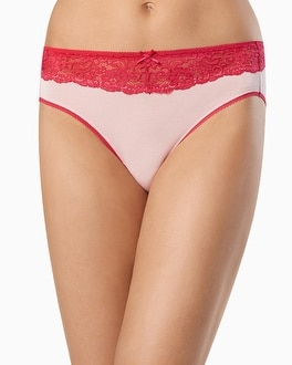 Embraceable Lace High Leg Brief