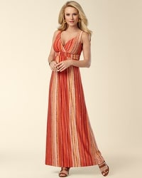 Britney Viva Orange Maxi Dress