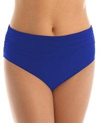 Magicsuit Shirred High Waist Swim Bottom