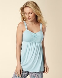 Embraceable Cool Nights Eggshell Blue PJ Cami