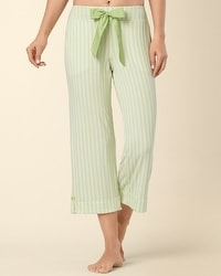 Embraceable Classic Stripe Margarita PJ Crop