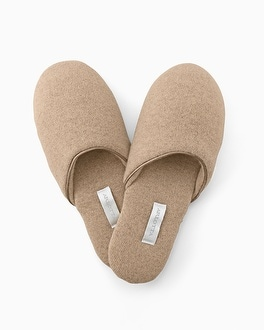 Cashmere Slipper Heather Sand