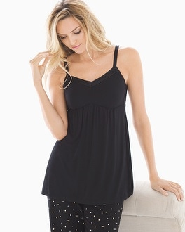 Cool Nights Satin Trimmed Pajama Cami