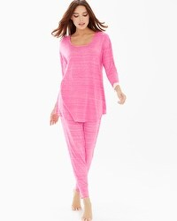 Embraceable Cool Nights Pajama Set Heather Azalea