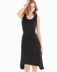 Short Sleeveless Dress Black