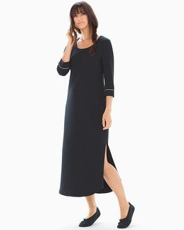Embraceable Long Sleepshirt Black