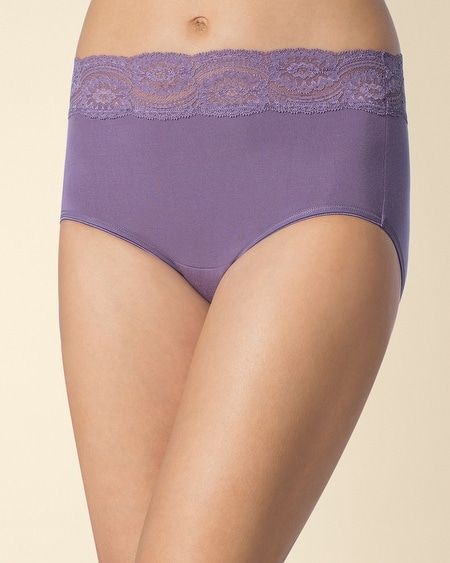 Embraceable Super Soft Lace Modern Brief