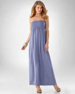 Camille Blue Chill Maxi Dress