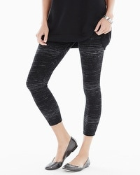 Live. Lounge. Wear. Crop Legging Striation Black