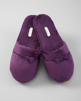 Embraceable Blackberry Slippers