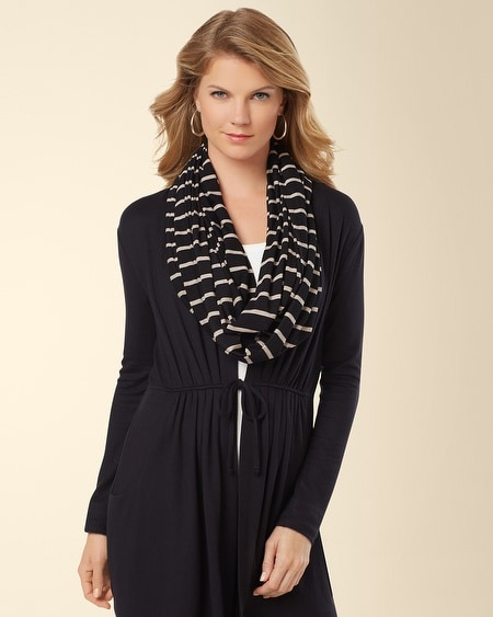 Infinity Wrap Scarf Energy Stripe