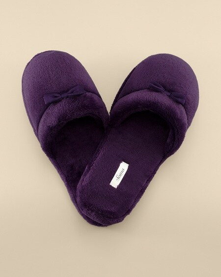Plush Slipper Blackberry