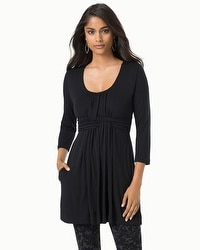 Live.Lounge.Wear. Wrapped Waist Tunic Black