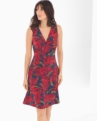 Leota Sleeveless Isabella Dress Palm