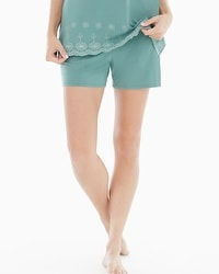 Embraceable Cool Nights Pajama Shorts Jaded
