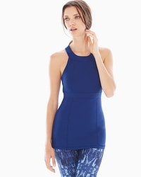 MSP by Miraclesuit High-Neck Slimming Tank Ultramarine