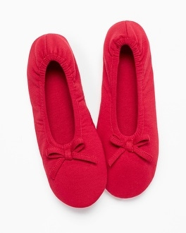 Embraceable Ballet Slippers Ruby