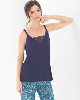 Cool Nights Pajama Cami With Lace