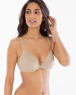 Vanishing Back Full Coverage Front Close Bra