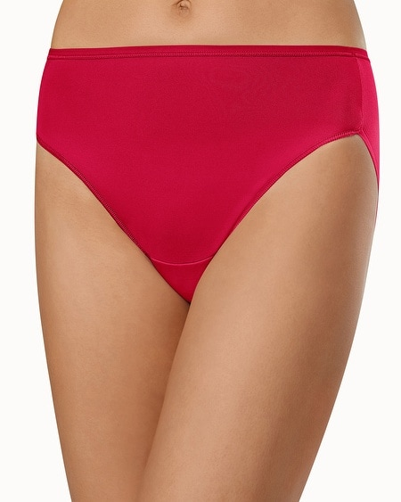 Microfiber High Leg Brief