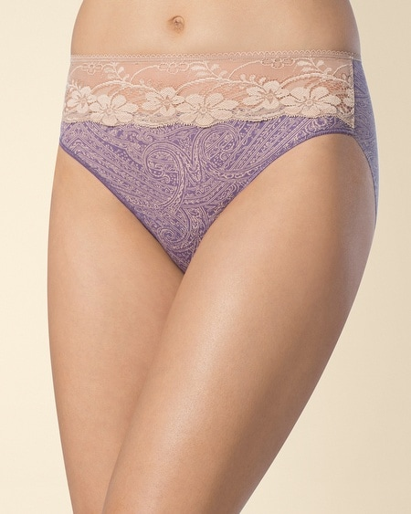 Microfiber with Lace Hi
