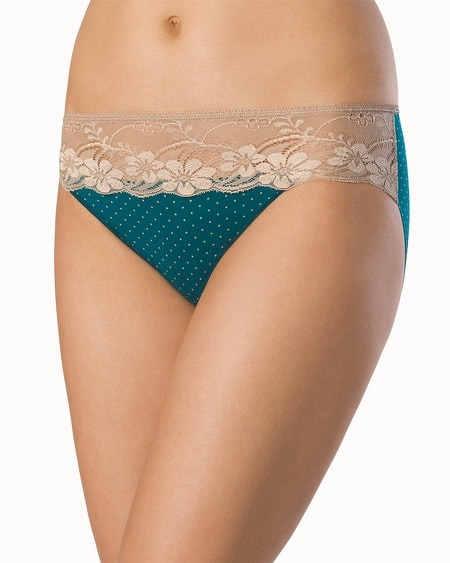 Microfiber with Lace Hipste