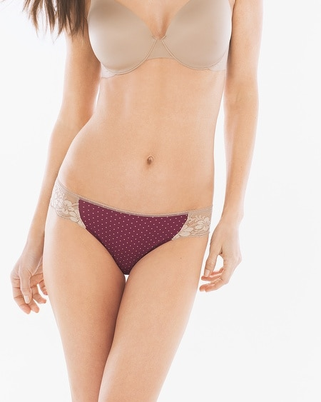 Microfiber with Lace Bikini