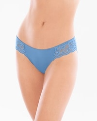 Vanishing Edge Microfiber with Lace Bikini